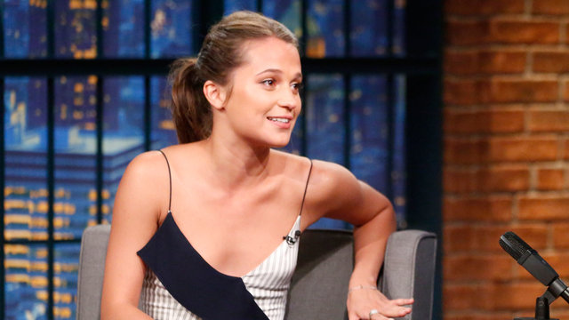 Alicia Vikander Talks Starring in Jason Bourne
