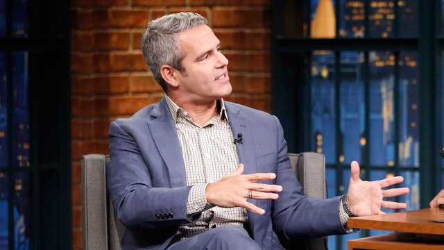 Andy Cohen Can't Remember Who's Been on His Show
