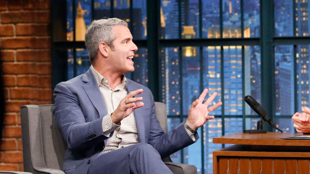 Andy Cohen and Anderson Cooper Got Pulled into a Random Couple's Wedding Photos