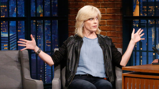 Maria Bamford's Uncomfortable Airplane Seatmate