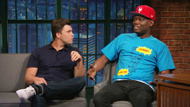 Colin Jost and Michael Che on Working with Donald Trump on SNL