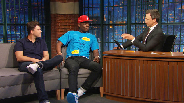 Colin Jost and Michael Che on Taking Wacky Questions from Chris Matthews