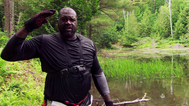 Shaquille O'Neal on Running Wild with Bear Grylls
