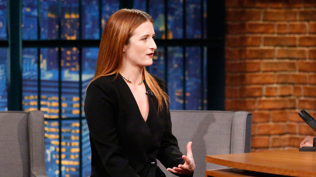 Grace Gummer Talks Mr. Robot