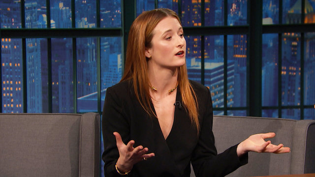 Grace Gummer on Getting Confused with Her Sister, Mamie Gummer