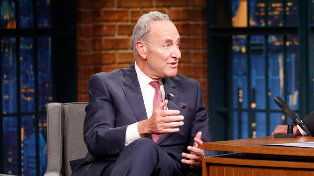 Chuck Schumer Talks Living in the Real-Life Alpha House in Washington, D.C.