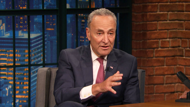 Senator Chuck Schumer: What Scares Me About Trump