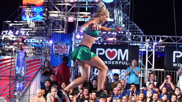 POM Run of the Night - Jessie Graff