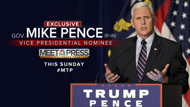 Meet the Press - Sept. 4, 2016