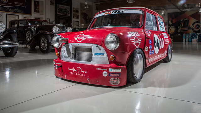 Bonneville Mini Cooper