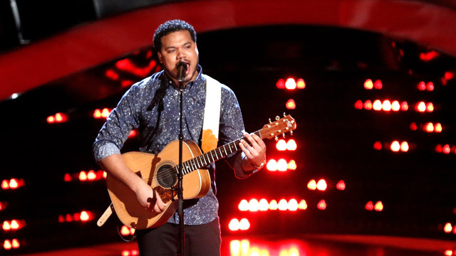 "Ethan Tucker Blind Audition: ""Roxanne"""