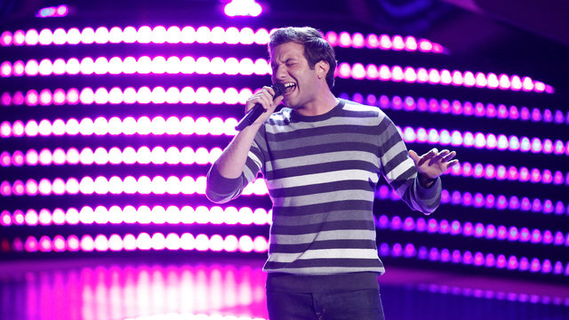 "Andrew DeMuro Blind Audition: ""Vienna"""