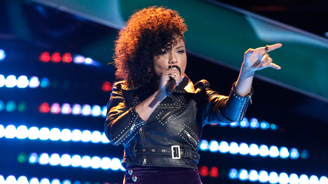 "Sophia Urista Blind Audition: ""Come Together"""