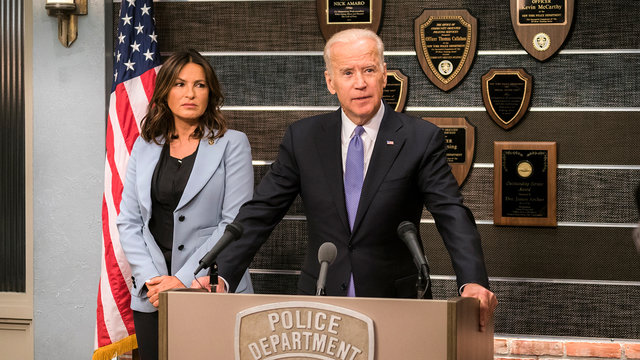 Joe Biden on the Next SVU