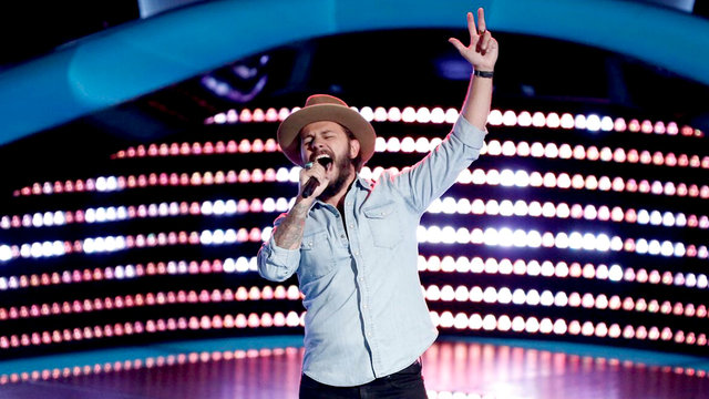 "Lane Mack Blind Audition: ""Every Day I Have The Blues"""