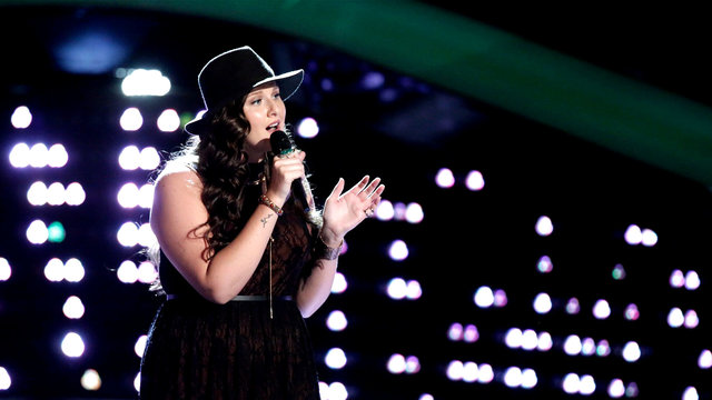 "Karlee Metzger Blind Audition: ""Samson"""