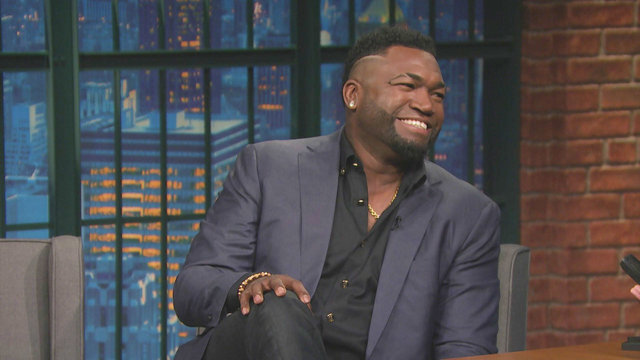 David Ortiz on His Retirement Gifts and Lego Statue