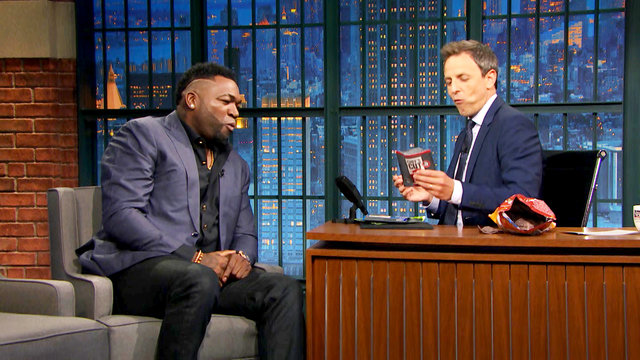 David Ortiz on Kenan Thompson's Impression and His Endorsements