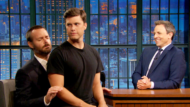 Will Forte Attempts an Erection with Colin Jost on His Lap