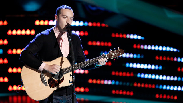 "Aaron Gibson Blind Audition: ""Losing My Religion"""