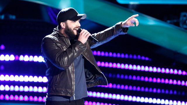"Josh Gallagher Blind Audition: ""Stay a Little Longer"""