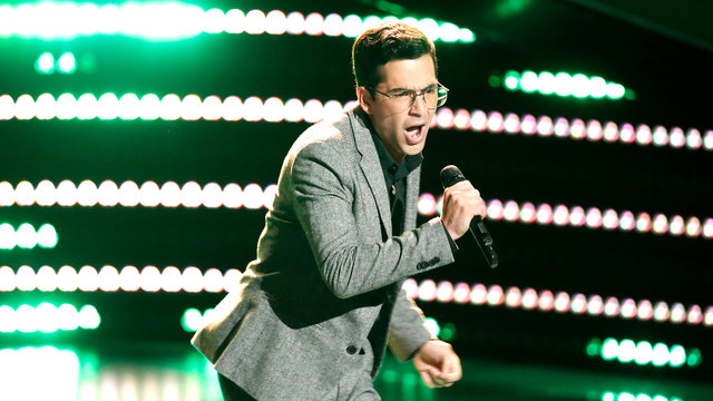 "Michael Sanchez Blind Audition: ""Use Me"""