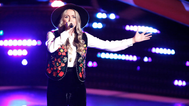 "Darby Walker Blind Audition: ""Stand by Me"""