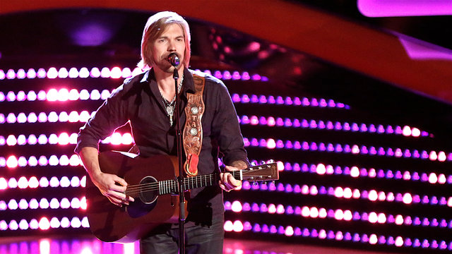 "Austin Allsup Blind Audition: ""Wild Horses"""
