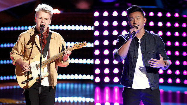 Christian Fermin and Preston James Blind Auditions