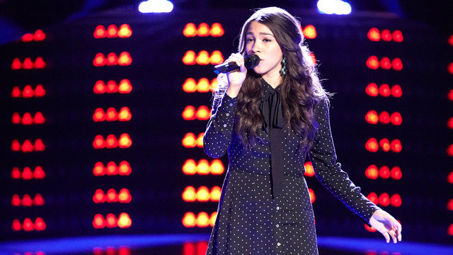 "Halle Tomlinson Blind Audition: ""New York State of Mind"""