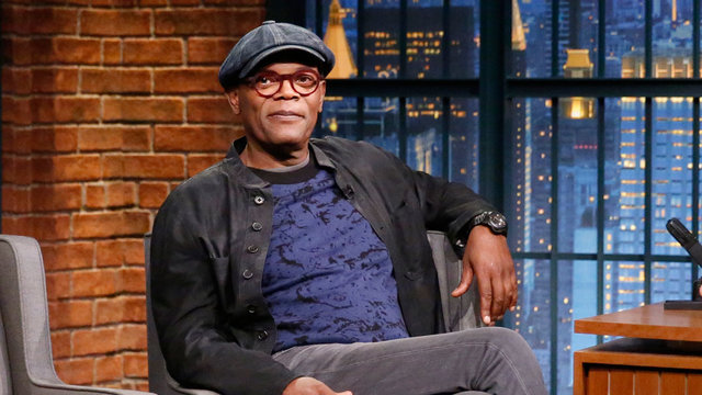 Samuel L. Jackson Would Put a Condom on His Head