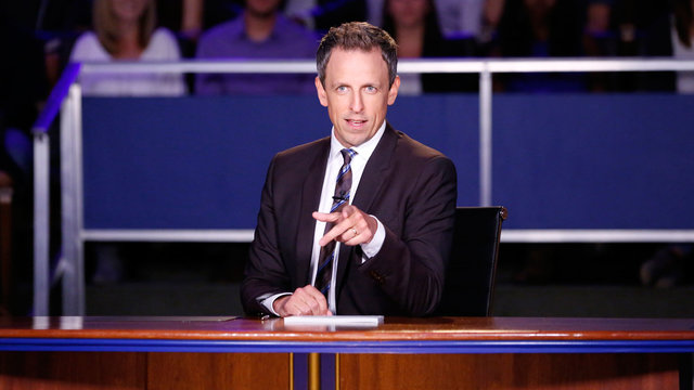 Late Night 2016 Presidential Debate - Late Night with Seth Meyers