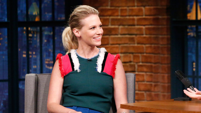 January Jones Was Super Excited Betty Draper Killed Don