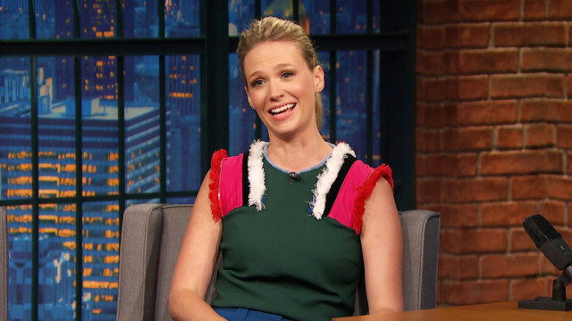 January Jones Got a Special Tattoo for Her Son