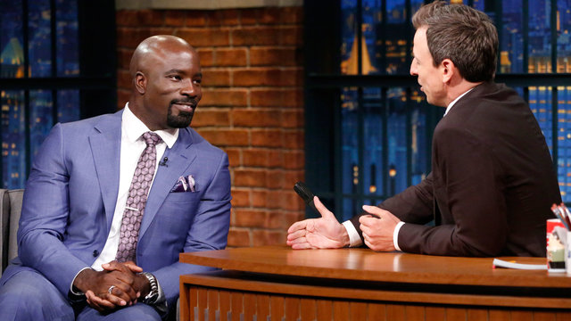 Mike Colter Is Glad He Got to Ditch Luke Cage's Tiara