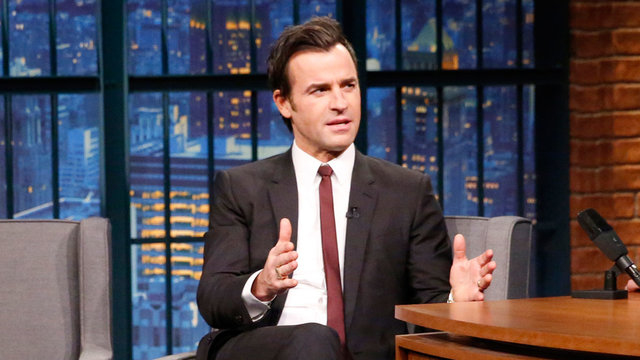 Justin Theroux on Working Opposite Pregnant Emily Blunt