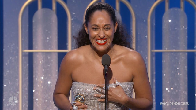 Tracee Ellis Ross Wins Best Actress in a TV Series, Comedy 2017