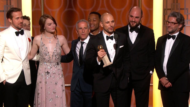La La Land Wins Best Motion Picture, Musical at the 2017 Golden Globes