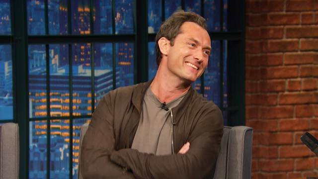 Jude Law and Seth Reminisce About Weird Unaired SNL Sketch