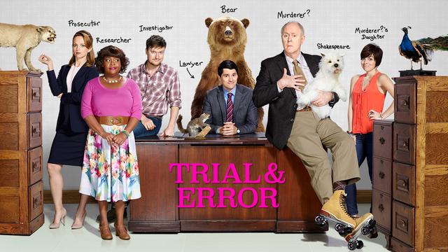 Risultati immagini per TRIAL AND ERROR NBC