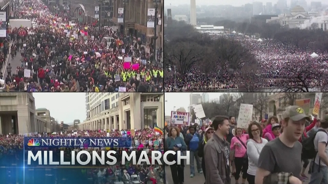NBC Nightly News, Jan 21, 2017