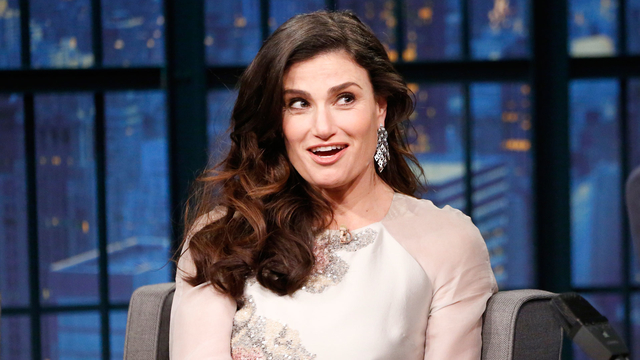 Idina Menzel and Amy Poehler Use the Buddy System at School