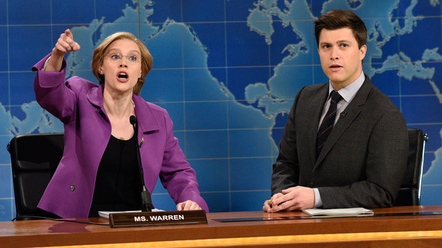 Weekend Update: Senator Elizabeth Warren