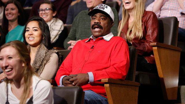 Tracy Morgan in the Audience