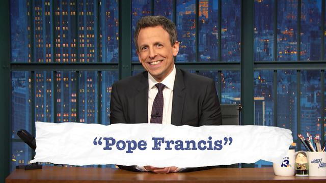 Teen Slang: Obamacare, Pope Francis