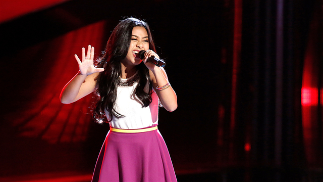 "Anatalia Villaranda Blind Audition: ""Runaway Baby"""