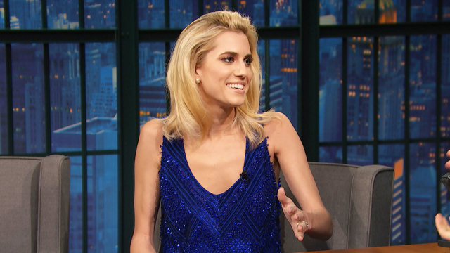 Allison Williams' Brother Is Her Husband's Stand-In