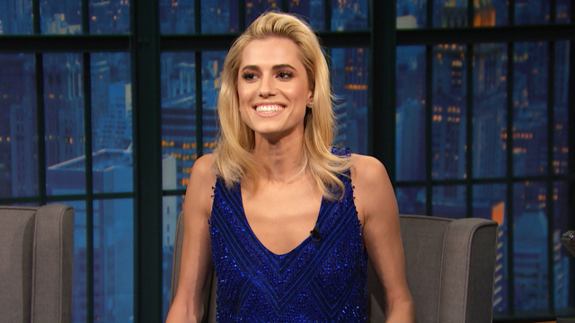 Allison Williams Has a Hard Time Promoting Get Out