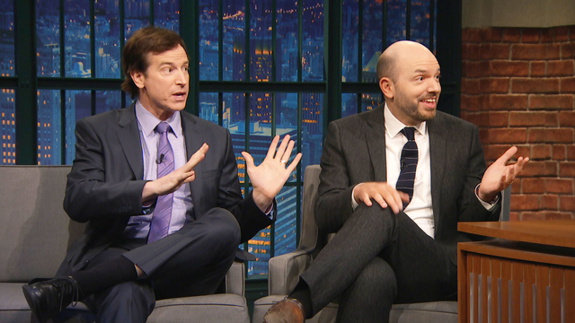 Paul Scheer and Rob Huebel Are Big Fans of Making People Drive Them Places