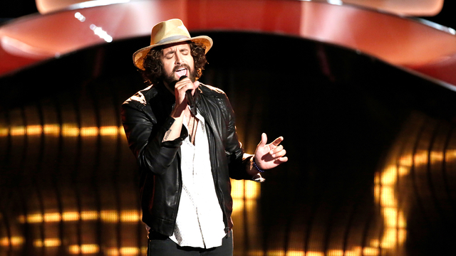"Johnny Hayes Blind Audition: ""Try a Little Tenderness"""